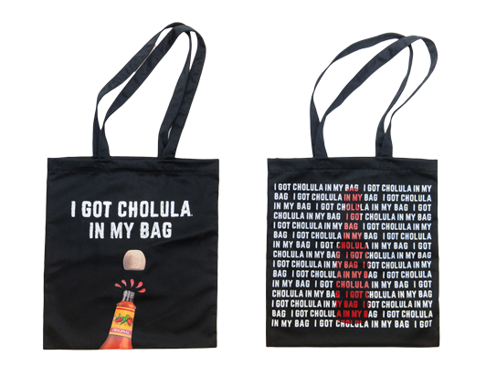 Cholula Tote Bag with Pocket