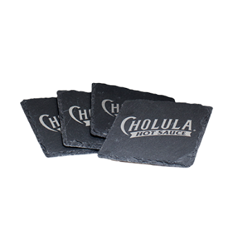 Cholula Slate Coaster Set [chs-coaster.jpg] - Click for More Information